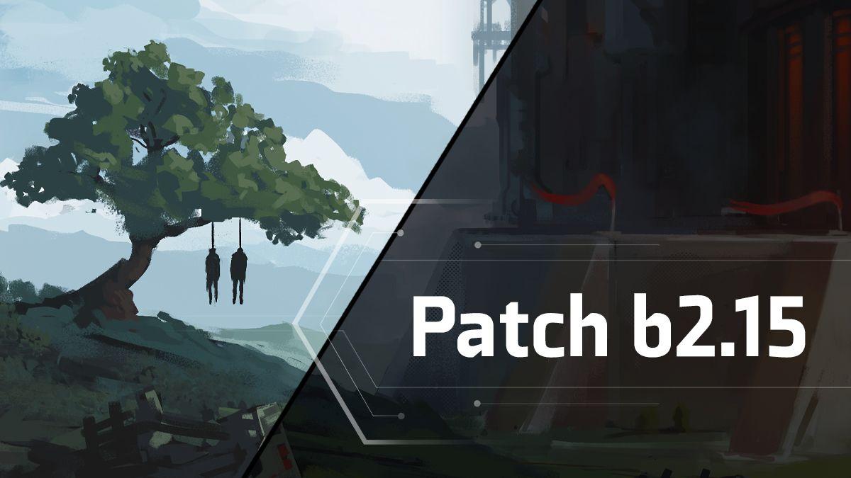 Patch b2.15 - Change Log