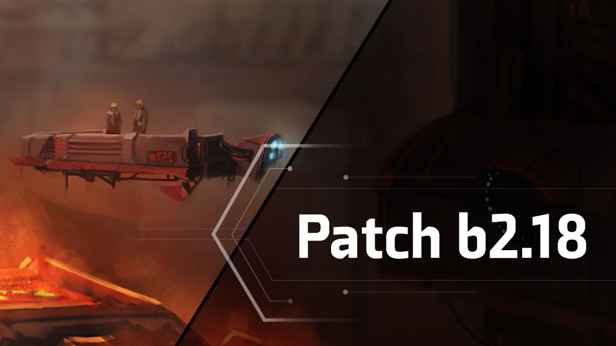 Patch b2.18 – Change Log